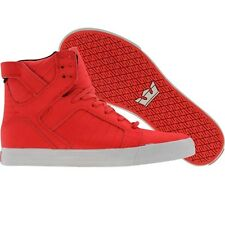 Supra Skytop (chili red wrinkled satin TUF) S18119