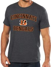 Cincinnati Bengals Majestic NFL Heart & Soul III Charcoal Men's T-Shirt