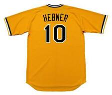 RICHIE HEBNER Pittsburgh Pirates 1982 Majestic Cooperstown Home Jersey