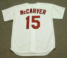 TIM McCARVER St. Louis Cardinals 1967 Majestic Cooperstown Home Baseball Jersey
