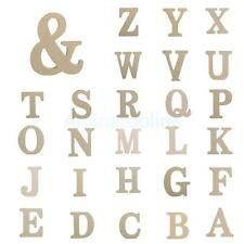 Wooden Decor Wedding Birthday Event Supplies Letter Alphabet Home DIY Art Craft