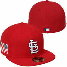 St. Louis Cardinals New Era 59FIFTY American Patch - Red - MLB