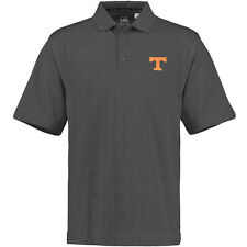 Mens Tennessee Volunteers Cutter & Buck Gray DryTec Championship Polo - College