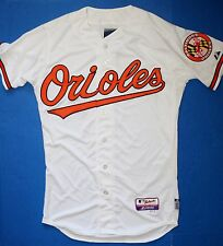 New Majestic Authentic Baltimore Orioles On-Field Home White Jersey Men's Sizes
