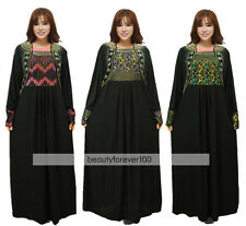 Muslim Abaya Dress Islamic Clothing Women Abaya Islamic Kaftan Dubai Dress