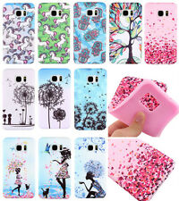 Shockproof Hybrid Cloth Rubber Soft TPU Silicone Case Cover For iPhone Samsung