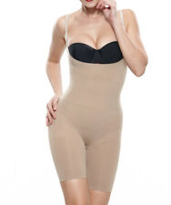 Ladies Tight Sexy Seamless Black Firm Control Slimming Full Body Shaper Bodysuit