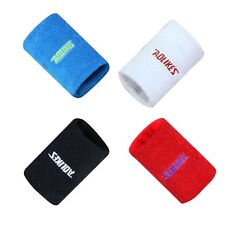 Sports Yoga Workout Gym Unisex Cotton Sweat Band Sweatband Wristband Wrist Band