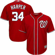 Bryce Harper Majestic Washington Nationals Baseball Jersey - MLB