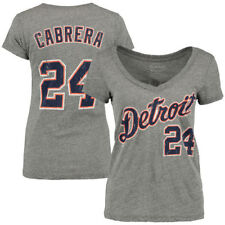 Miguel Cabrera Majestic Threads Detroit Tigers T-Shirt - MLB