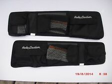 Harley Original touring road king flhrs custom saddlebag lid organizer 54005-04