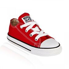 Converse All Star Ox Red White Infant Toddler Boys Girls Shoes Size 4-10