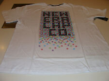 New Era Apparel T Shirt Illusion White 100% Cotton NWT