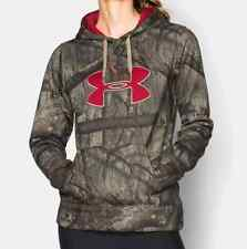 Under Armour Women's Mossy Oak Treestand Camo Hoodie Sweatshirt Most Sizes #091