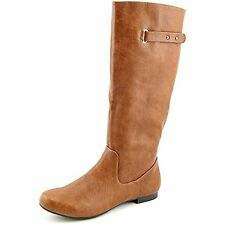 Style & Co Mabbel Womens Faux Leather Fashion Knee-High Boots, Whiskey, Size ...