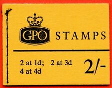 N26p 1966 October 2/- Phosphor Pre Decimal booklet.