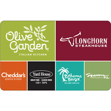 $10 / $25 Bahama Breeze Gift Card - Mail Delivery