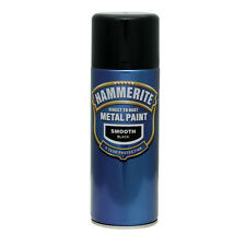 Hammerite Smooth Metal Paint 400ml Spray ALL COLS x 5 Cans