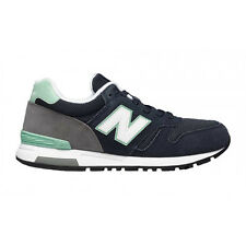 New Balance Womens WL565NP B Navy Green Grey Suede Running Shoes WL565 565 DS