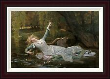 Global Gallery Ophelia by Alexandre Cabanel Framed Painting Print