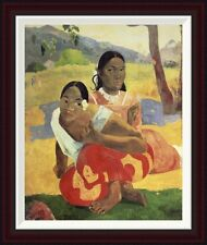 Global Gallery When Will You Marry by Paul Gauguin Framed Painting Print