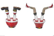 Ganz Christmas Holiday Santa Legs or Mrs Claus Legs Kitchen Spreader Set EX18918