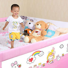 New Infant Safety Bed Rail Foldable Baby Toddler Sleep Guard Bedside Rail Gift
