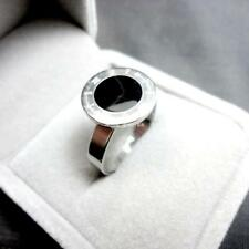 Top sliver enamel stainless steel ring fashion hotsale jewelry new free shipping