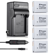 NB-10L Battery Charger Kit  for Canon PowerShot SX40 SX50 SX60 HS G1 X G16 G15
