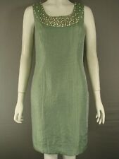 BNWT MINUET PETITE LIGHT TEAL DRESS WITH BEADED TRIM SIZES 8 & 20 - RRP £120