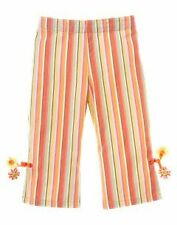 Gymboree Freshly Picked stripe tassel flower pants NWT