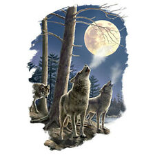 Long Distance Call T Shirt Choose Style, Size, Color Wildlife Wolf T Shirt
