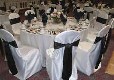 50 Round / square top satin Banquet Chair Covers wedding Restaurant FREE SHIPING
