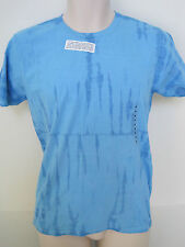 GAP Men's Blue Tie Dye Short Sleeve Crew Neck T-shirt Size Small NWT