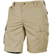 Pentagon BDU 2.0 Shorts Tactical Mens Cargo Patrol Combat Airsoft Uniform Khaki