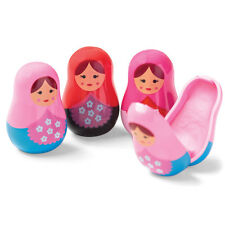 Cute Novelty Russian Doll Lipgloss Stocking Filler Gift Girl