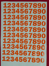 22mm Numbers. Use for house, bin, signs, sport etc.