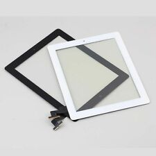 Touch Screen Glass Digitizer Replacement + Home Button  for iPad 2 Black White