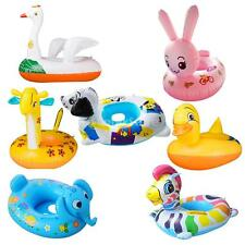 PVC Swimming Boat Baby Boy Girl Inflatable Pool Beach Fun Toy 7 Models Available