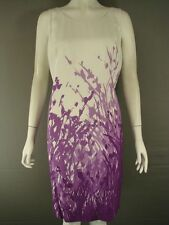 SUPERB BRAND NEW WITH TAGS MINUET PETITE MID PURPLE DRESS SIZES 14-20 - RRP £120