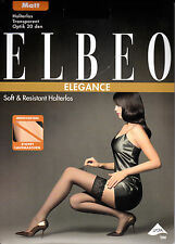 Elbeo Soft & Resistant 20, stay-ups, 3 Pack, silk-mat look, lace band