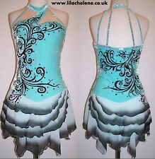Ice Dance Figure Skating Dress/Baton Twirling Costume/Tap outfit/Majorettes
