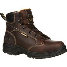 Mens Georgia Stone Diamond Trax Steel Toe Waterproof Work Boot Size 8-13 GBoT061