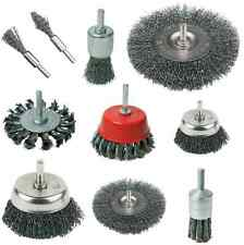 ROTARY WIRE BRUSHES, WHEELS, PB02- CARB, 22mm 50mm 75mm 100mm