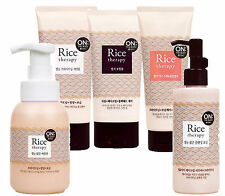 LG H&H On The Body Rice Therapy Cleansing Foam Oil Mask Pack Foam Cleanser 6type