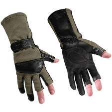 Wiley X Aries Gloves Extendable Tactical Protective Army Airsoft Foliage Green