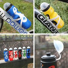 Portable 750ml Drink Water Bottle Bike Cycling Water Cup Kettle With Holder Dust