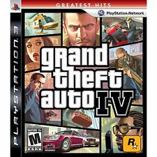 Grand Theft Auto IV Greatest Hits Sony PlayStation 3 2008 ps3 mature 17+ LN