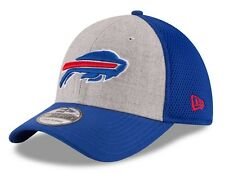"Buffalo Bills New Era NFL 39THIRTY ""Heathered Gray Neo"" Flex Fit Hat"