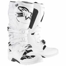 ALPINESTARS TECH 7 MOTOCROSS ATV DIRTBIKE MX BOOTS WHITE MENS SIZE